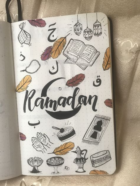 Bullet journal // ramadan theme ideas