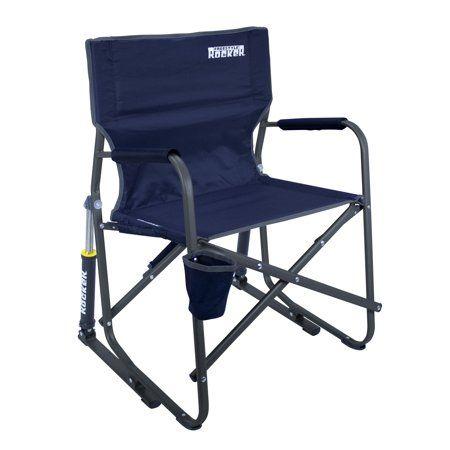 Gci Outdoor Freestyle Rocker Indigo Walmart Com Camping Rocking Chair Portable Rocking Chair Folding Rocking Chair