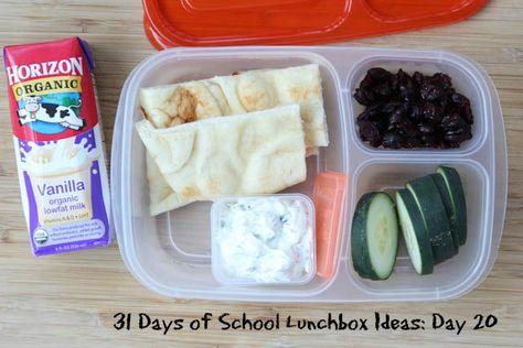 31 Days of School Lunchbox Ideas: Day 20 | 5DollarDinners.com