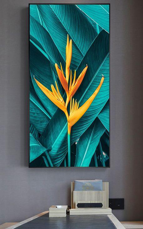 The Spirit Of Joy Addyzeal Modern Wall Art Canvas Scandinavian Wall Art Tropical Wall Art