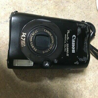 Canon Powershot Sd990is 14 7 Mp Digital Camera Elph Digital Camera Compact Digital Camera Camera