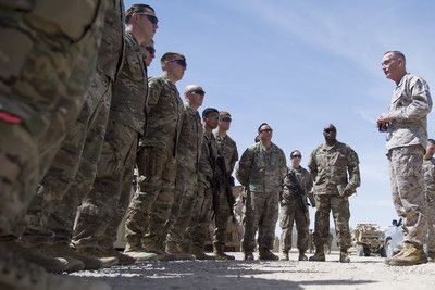 U S Brigade Arrives In Afghanistan To Advise Strengthen Afghan