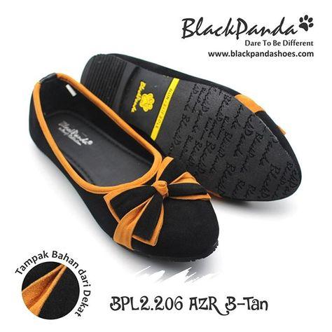 Blackpanda Azira Black Tan Kode Bp 2 206 Azr B Sesuai Warna