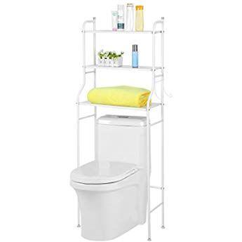 Plantex Stainless Steel 3 In 1 Multipurpose Bathroom Shelf Rack