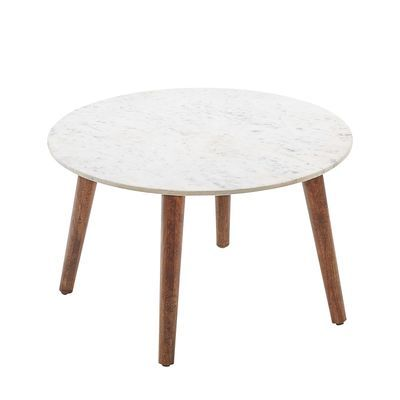 Clark White Marble Coffee Table With Images Marble Coffee