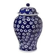 blue & white modern urns - Google Search