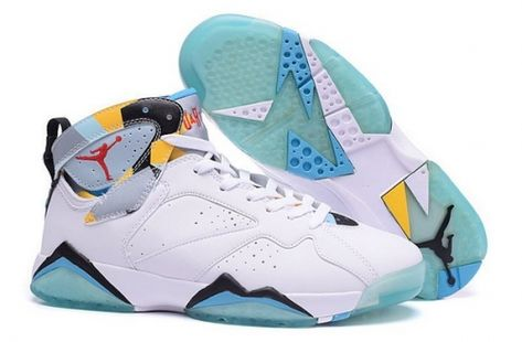 4e80cab56510 Buy Air Jordan 7 N7 White Dark Turquoise-Black-Ice Cube Blue - Mysecretshoes
