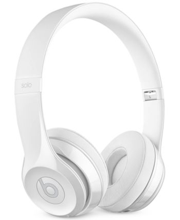Beats By Dr Dre Solo3 Noise Cancelling Bluetooth Wireless Headphones Reviews Gifts Games Men Macy S White Headphones Wireless Headphones In Ear Headphones