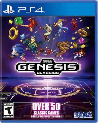New Games Sega Genesis Classics Pc Ps4 Xbox One Sega Genesis Sega Playstation