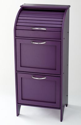 Roll Top Veggie Bin Purple Kitchen Onion Storage Potato And Onion Bin