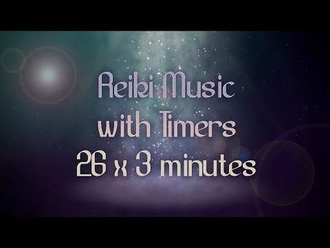 Reiki 3 Minute Timer with Relaxing Pan Flute Music and Sea Sounds