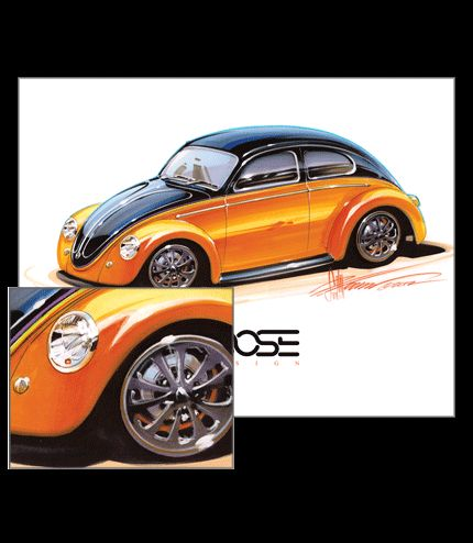 43 best Chip Foose images on Pinterest | Car, Car drawings and Car ...