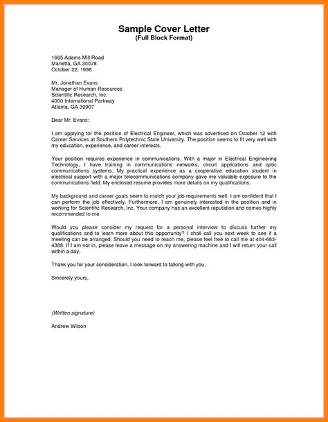 multiple signature business letter format well Home Design Idea - electrical engineer cover letter