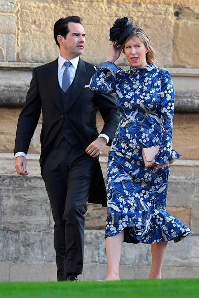 Jimmy Carr And Karoline Copping Jimmy Carr Princess Eugenie Jack Brooksbank Royal Fashion He says he has no desire to have children. jimmy carr princess eugenie jack