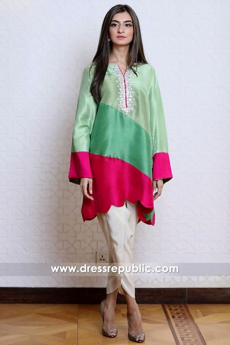 Casual Pakistani Dresses With Tulip Pants Montreal, Quebec, Laval