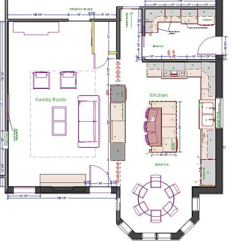 kitchen floorplan   home sweet home   pinterest   islands, the