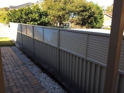 Colorbond Fence Louvre Height Extension Panels 600mm H Building Materials Gumtree Australia Bla Privacy Screen Outdoor Privacy Fence Designs Fence Design
