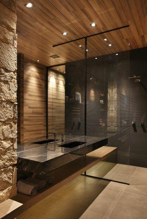 ▷ 1001 + idées pour créer une salle de bain nature | Salle ...