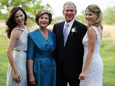 George W. Bush and family 43rd #President of the United States 50th #FirstLady
