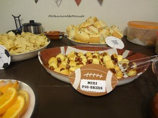 Sports Themed Baby Shower Food Showers Pinterest Foods Babies And