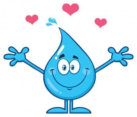 En La Misma Serie Con 61107561 Cartoon Water Drop Frases Inpiracao Desenhos