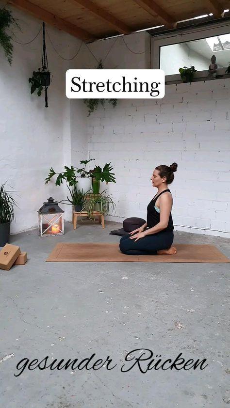 Rücken Yoga Übungen  - Dehnung & Mobilisation gegen Verspannungen & Rückenschmerzen