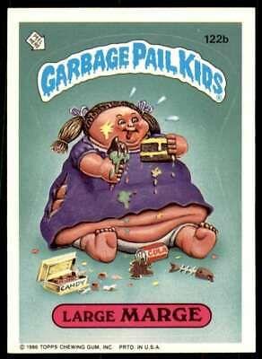 1986 Topps Garbage Pail Kids Series 3 Large Marge 122b In 2020 Garbage Pail Kids Cards Garbage Pail Kids Kids Series
