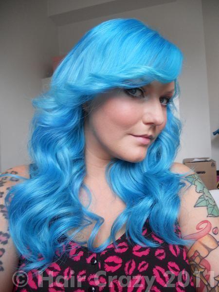 Manic Panic Bad Boy Blue Atomic Turquoise Bright Blue Hair