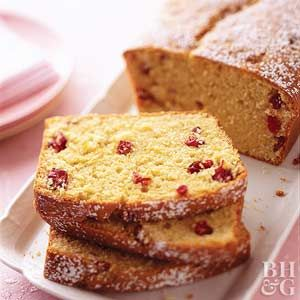 Cranberry Sour Cream Pound Cake Recipe Sour Cream Pound Cake Cake Recipes Cranberry Recipes