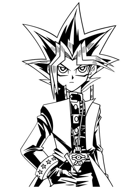 - Coloring Page - Yu Gi Oh Coloring Pages 56 Cartoon Coloring Pages,  Coloring Pages, Cool Coloring Pages