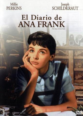 El Diario De Anna Frank George Stevens El Diario De Ana Frank Carteles De Cine Frank Pelicula