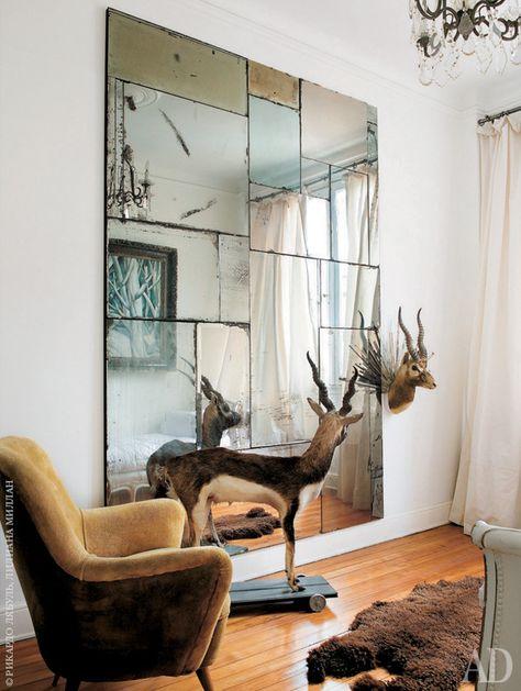 Resultado de imagem para espejos en espacios pequeños