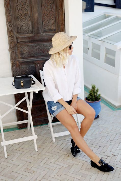 10 Ways To Wear Shorts - The Effortless Chic
