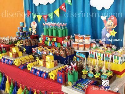 Mario Bros Con Imagenes Fiesta De Mario Bros Fiesta De Mario