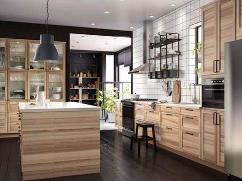 Cucina Faretti A Soffitto.Arredamento Moderno Per La Cucina Faretti Sul Soffitto