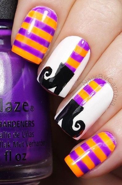 Witchy Boots - Halloween Nails So Cool They'll Give You Chills - Photos