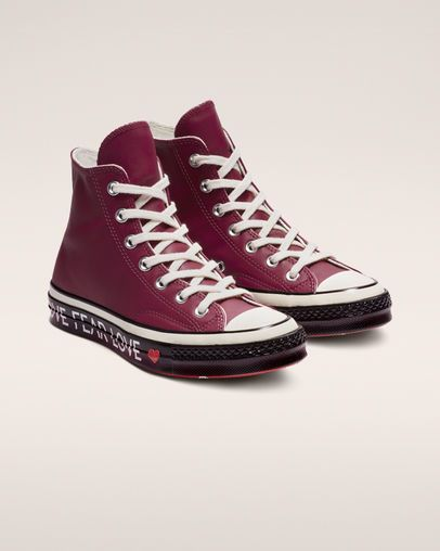 Converse Lunarlon Insole For Sale Chuck 70 Love Graphic High Top Rhubarb Egret Black Converse