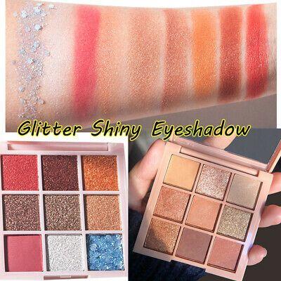 9 Colors Eyeshadow Palette Beauty Makeup Shimmer Matte Eye Shadow Cosmetics Hot Shimmer Eyeshadow Palette Glitter Eyeshadow Shimmer Eyeshadow