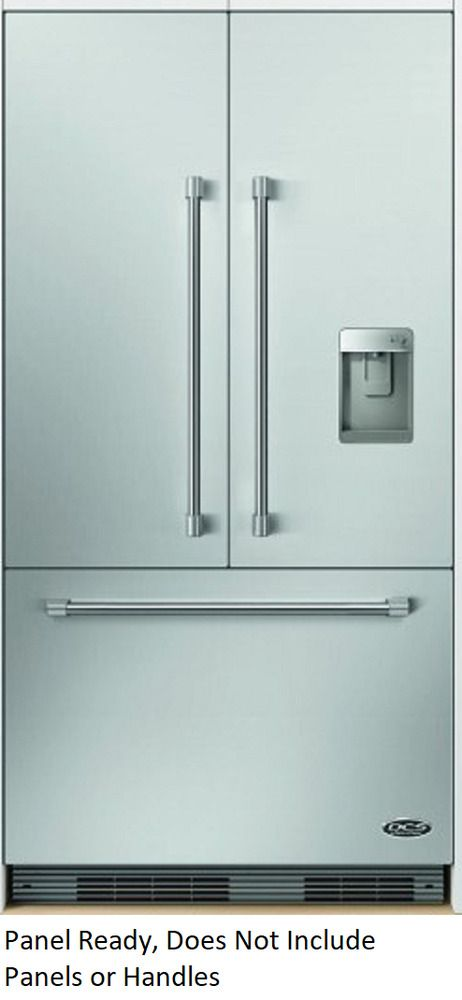 Ebay Sponsored Dcs Rs36a72uc1 36 Built In French Door Refrigerator With Dispenser Pan Refrigerator Panels French Doors Counter Depth French Door Refrigerator