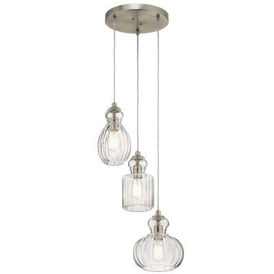 mcdougal 3 light cluster pendant pendant lights pendant lighting rh pinterest com