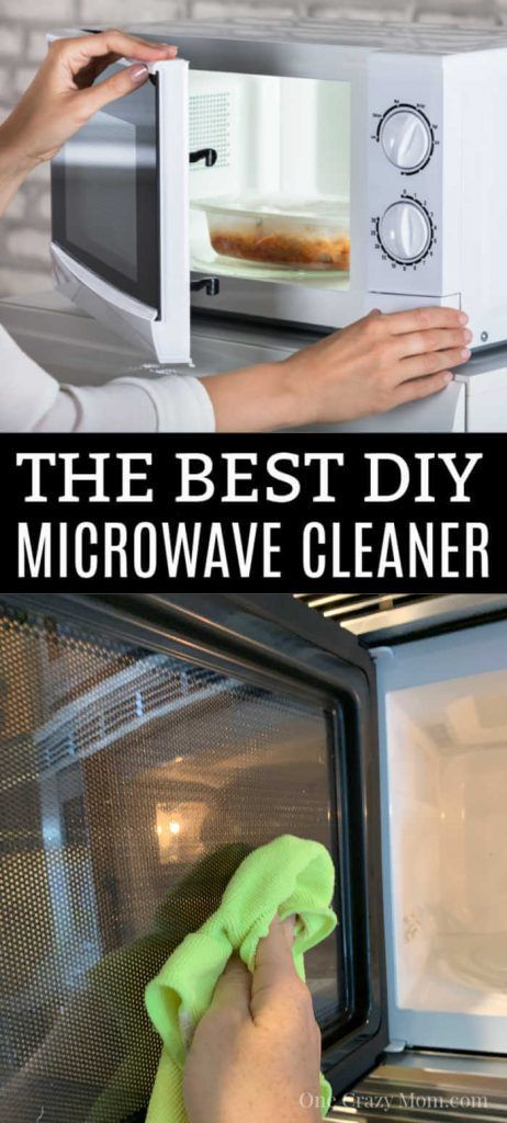 How To Clean Microwave With Vinegar Easy Microwave Cleaning Hack