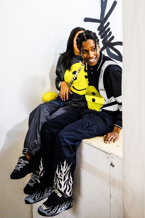 A$AP Rocky's New Sneaker Pop-Up Was a Rave/Skate Park in Harlem