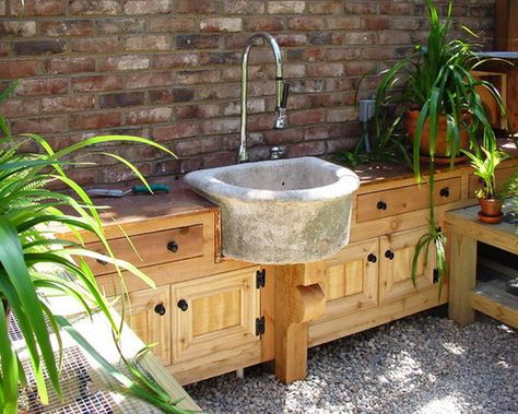 19 outdoor sink stations ideas