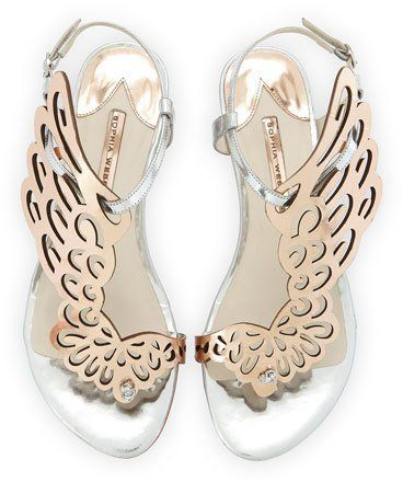 7a5a37860 Sophia Webster Seraphina Angel-Wing Sandal