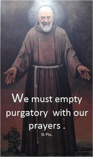 WHY CATHOLICS PRAY FOR THE SOULS IN PURGATORY