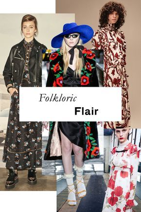 From Gucci's bold fur intarsia poppies to the full-sleeved, lushly-embroidered styles to be found elsewhere, we can't get enough of these subtle, decidedly modern nods to traditional dress, Ukrainian and beyond.
