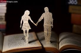 A love story that's book bound. (=