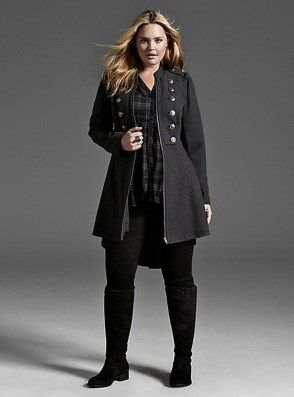 45 Casual and Comfy Plus Size Fall Outfits Ideas - ADDICFASHION size fashion invierno Plus Size Outfits for Curvy Ladies plus size fall outfits