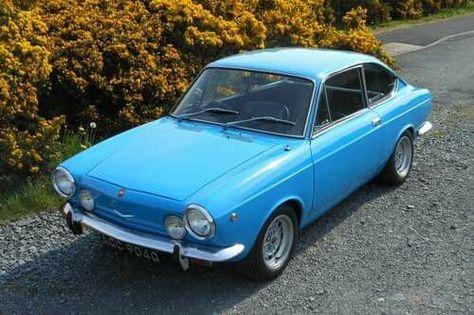1969 Fiat 850 Sports Coupe Avec Images Fiat 850 Voiture Simca