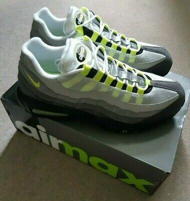 Ad Ebay Nike Air Max 95 Og Neon 2015 New With Box Nike Air